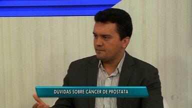 Quadro Saúde do GRTV fala sobre câncer de próstata ( parte 2) - Médico oncologista tira dúvidas sobre a doença.
