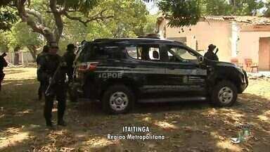 Polícia investiga se suspeito de matar menina Rakelly contou com apoio de outra pessoa - Garota foi assassinada e abusada em sítio em Itaitinga, na Grande Fortaleza.