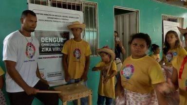 Moradora do bairro Novo Mato Grosso abre as portas para o desafio do MTTV - Moradora do bairro Novo Mato Grosso abre as portas para o desafio do MTTV