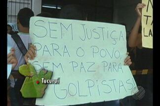 Estudantes do Pará protestam contra a PEC 241 - Estudantes do Pará protestam contra a PEC 241