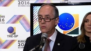 TRE faz balanço positivo do 2º turno em SP - A votação foi tranquila nas 13 cidades do estado. O presidente do Tribunal Regional Eleitoral Mário Devienne Ferraz disse que um índice de abstenção maior é normal no segundo turno.