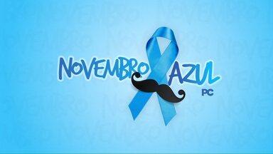 Homens fazem alerta para o Novembro Azul - O mês é dedicado a prevenção ao câncer de próstata