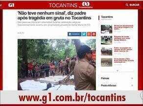 Tragédia em Santa Maria é destaque no G1 Tocantins - Tragédia em Santa Maria é destaque no G1 Tocantins