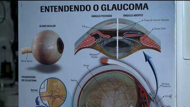 Quadro Saúde do GRTV fala sobre Glaucoma ( parte 1) - Uma doença nos olhos que pode causar cegueira se não for tratada a tempo.