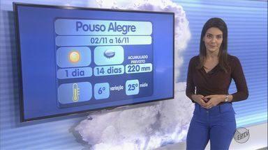 Confira a previsão do tempo para esta quinta-feira (3) no Sul de Minas - Confira a previsão do tempo para esta quinta-feira (3) no Sul de Minas
