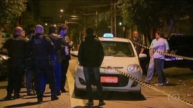 Briga de trânsito termina em morte no Itaim Bibi - Taxista de 31 anos deixou uma filha de três anos. Quem matou foi um policial civil que disse que agiu em legítima defesa e acusou o taxista de atirar primeiro.