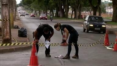Três pessoas são baleadas em assalto em Ceilândia - O crime aconteceu na tarde desta sexta-feira (4).