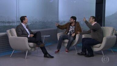 """Entrevista com Fernando Caruso - O humorista fala sobre o espetáculo de stand up comedy """"Solo Junto"""", em cartaz no Teatro Fashion Mall."""
