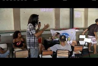 Estudantes ocupam escolas públicas no Leste de Minas - Escola Estadual Nelson de Sena e Escola Estadual Alberto Giovannini estão ocupadas.