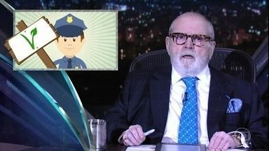 """Jô abre programa de quinta-feira comentando as notícias da """"boato press"""" - Paulo Coelho é o convidado especial da noite"""