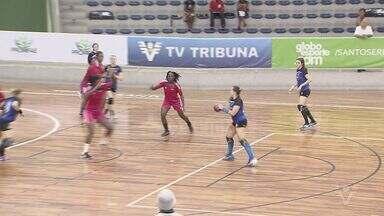 Amistoso Internacional de Handebol Feminino acontece na Arena Santos - Partida aconteceu na noite de quinta-feira (10).