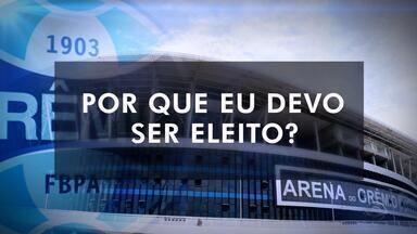 Romildo Bolzan e Raul Mendes revelam suas propostas para o Grêmio - Mais de 38 mil sócios estão aptos a escolher quem será o presidente do clube entre 2017 e 2019 em eleição neste sábado, das 10h às 17h, na Arena e pela internet.