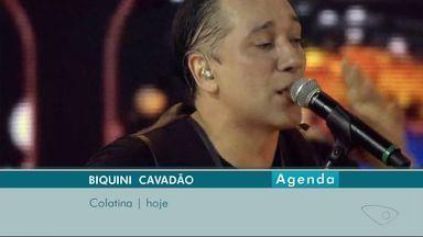 Espetáculo com Alexandre Nero é destaque no fim de semana no ES - Na sexta (11), Biquini Cavadão toca em Colatina, no Arena North Star.