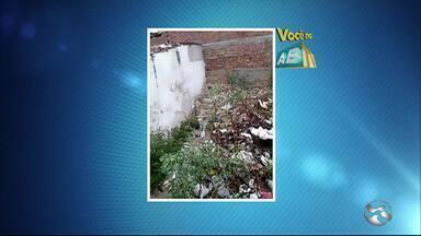 Confira as denúncias do 'Você no ABTV' desta sexta-feira (11) - Moradores denunciaram problemas de lixo em bairros de Caruaru.