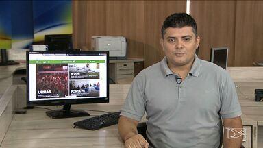 Confira os destaques do GloboEsporte.com - GloboEsporte.com mostra a situação do Sampaio após o rebaixamento e a movimentação política do Imperatriz e MAC