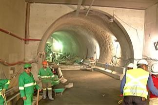Túnel na área central de Mogi deve ser entregue no próximo mês - Prefeito Marco Bertaiolli fez apresentação da obra
