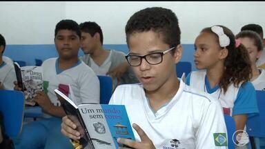 Escolas incentivam crianças e jovens a ler e escrever mais - Escolas incentivam crianças e jovens a ler e escrever mais