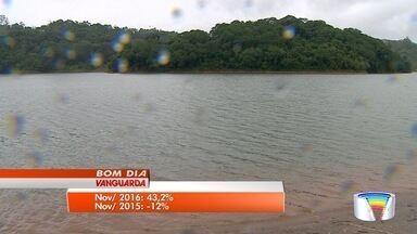 Represa de Nazaré Paulista recebe turistas no fim de semana - Apesar da chuva, turistas também aproveitaram