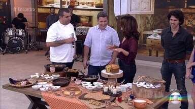 Jefferson Rueda lança livro de receitas caipiras