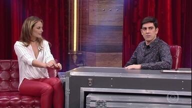 Marcelo Adnet faz funk com as coisas que mais irritam Paolla Oliveira - Atriz não suporta grosseria e falta de respeito
