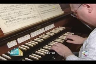 Espetáculo musical é realizado na Catedral de Santa Teresinha em Uberlândia - Projeto 'Concerto de Órgãos' acontece nesta segunda-feira (21) às 20h. A entrada será pela lateral da catedral.