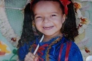 Laudo do IML aponta que menina Ana Clara pode ter sido enterrada viva em Carmo da Mata - Legista encontrou terra nos pulmões da criança morta. Asfixia mecânica, obstrução de vias aéreas e soterramento são citados.