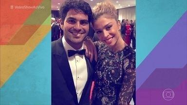 Confira os looks do elenco da Globo no Emmy Internacional - Diretamente da cerimônia de entrega do prêmio, a galera mandou recado para o 'Vídeo Show'. 'Verdades Secretas' foi a vencedora na categoria Melhor Novela