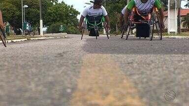 Paratletas sergipanos se preparam para competição em SP - Paralimpíada Escolar começa nesta terça-feira, em São Paulo.