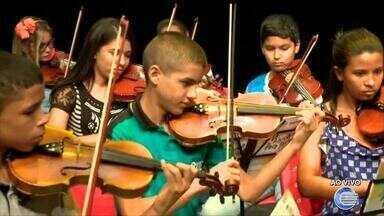 Orquestra Jovem se apresenta no Theatro 4 de Setembro - Orquestra Jovem se apresenta no Theatro 4 de Setembro