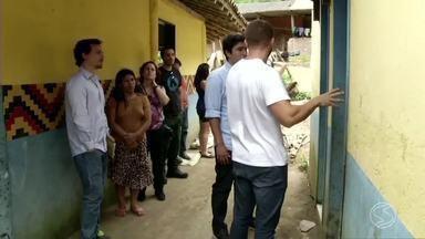 MP pede melhorias em escola que atende tribos indígenas na Costa Verde do Rio - Problema é a falta de estrutura adequada para atender os alunos.