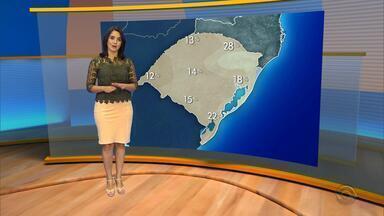 Tempo: não há previsão de chuva para quarta-feira (23) no RS - Assista ao vídeo.