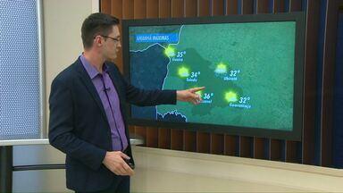 Prepare-se para o calorão - Nos próximos dias, os termômetros devem registrar 38 graus de máxima em Cascavel.