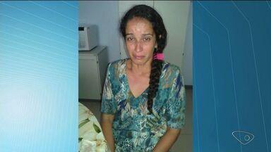 Mulher suspeita de matar tio na Bahia é presa em Conceição da Barra, ES - Ela foi localizada no distrito de Linharinho com o namorado, e negou o crime.Ex-marido procurava há 2 anos pelo filho do casal, que estava em Itaúnas.