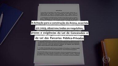 Procurador pede ao STF para prosseguir inquérito sobre Paulo Câmara e Geraldo Julio - Senador Fernando Bezerra Coelho e deputado Tadeu Alencar também são alvos da investigação de suposto superfaturamento na construção da Arena de Pernambuco.