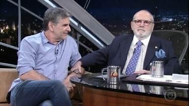 Jô Soares conversa com o jornalista João Carlos Albuquerque - Ele está escrevendo um livro sobre o século 20 no cinema italiano