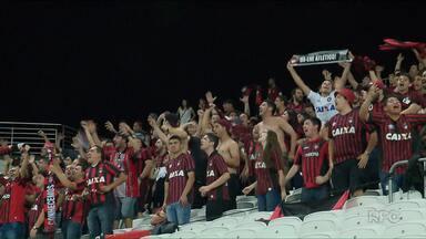 Atlético-PR vai decidir em casa classificação para a Libertadores - Depois de empatar com o Corinthians, o Furacão recebe o Flamengo, na Arena, e depende dele próprio para ficar com a vaga