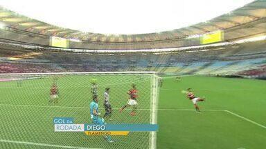Gol da rodada: capixabas elegem gol de Diego do Flamengo o mais bonito - Camisa 10 fez um belo gol com um chute 'voadora'.