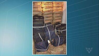 Alfândega do Porto de Santos apreende droga escondida em contêiner - Entorpecente foi misturado com uma carga de carvão que seguiria para a Bélgica.
