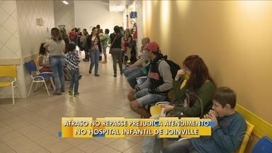 Hospital Infantil de Joinville interrompe atendimento eletivo - Hospital Infantil de Joinville interrompe atendimento eletivo