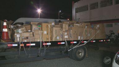 Polícia de Campinas recupera carga de medicamentos estimada em R$ 300 mil - Todos os presos vão responder por receptação.