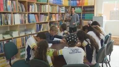 Biblioteca é inaugurada em escola estadual de Ji-Paraná - Obra custou R$176 mil para o Estado.