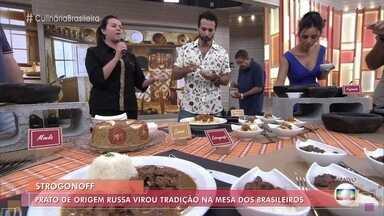 Chefs explicam origem dos pratos brasileiros típicos