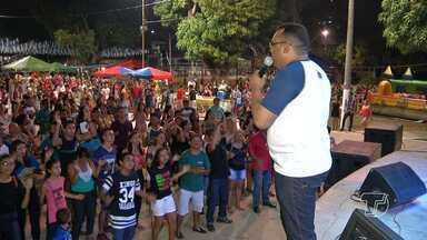 15ª edição do Cantando e Dançando na Praça pra Jesus é realizado em Santarém - Igrejas se encontram para uma grande festa de louvor e adoração.
