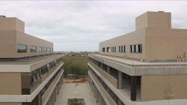 'Tem jeito': Empreendimentos contam com estação de tratamento própria e aquecimento solar - Quadro 'Tem jeito': Empreendimentos em Florianópolis contam com estação de tratamento própria e aquecimento solar