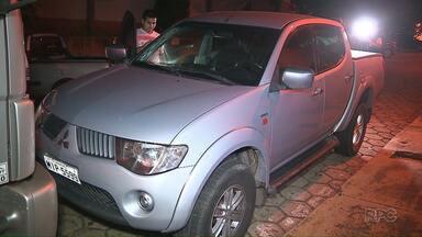 Caminhonete roubada em Santa Catarina é recuperada em Foz - Ninguém foi preso