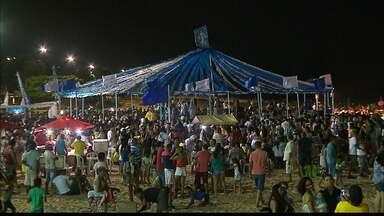 Veja como foi a festa em homenagem a Iemanjá na Paraíba - Celebração teve caminhada que terminou na orla de João Pessoa.
