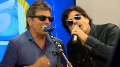 Em Movimento: Papo sobre a nova parceria do Paulo Ricardo e Evandro Mesquita - Os cantores estiveram no Estado no fim do mês passado para um show em Vila Velha.