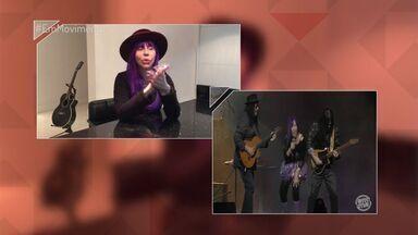 Em Movimento: Baby do Brasil responde perguntas de fãs dos Novos Baianos - A cantora se apresenta neste sábado, 10, no retorno da banda que fez sucesso nos anos 70.