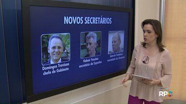Prefeito eleito de Maringá anuncia nomes de mais três secretários - Pastas são as de Esportes, Governo e Chefia de Gabinete