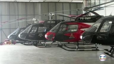 SPTV Segunda edição - Edição de sexta-feira, 09/12/2016 - Helicópteros do governo de São Paulo, usados em resgates, investigações e transportes de órgãos, não tem licença para voar. Túneis da capital não cumprem legislação de prevenção contra incêndios. E mais as notícias do dia.